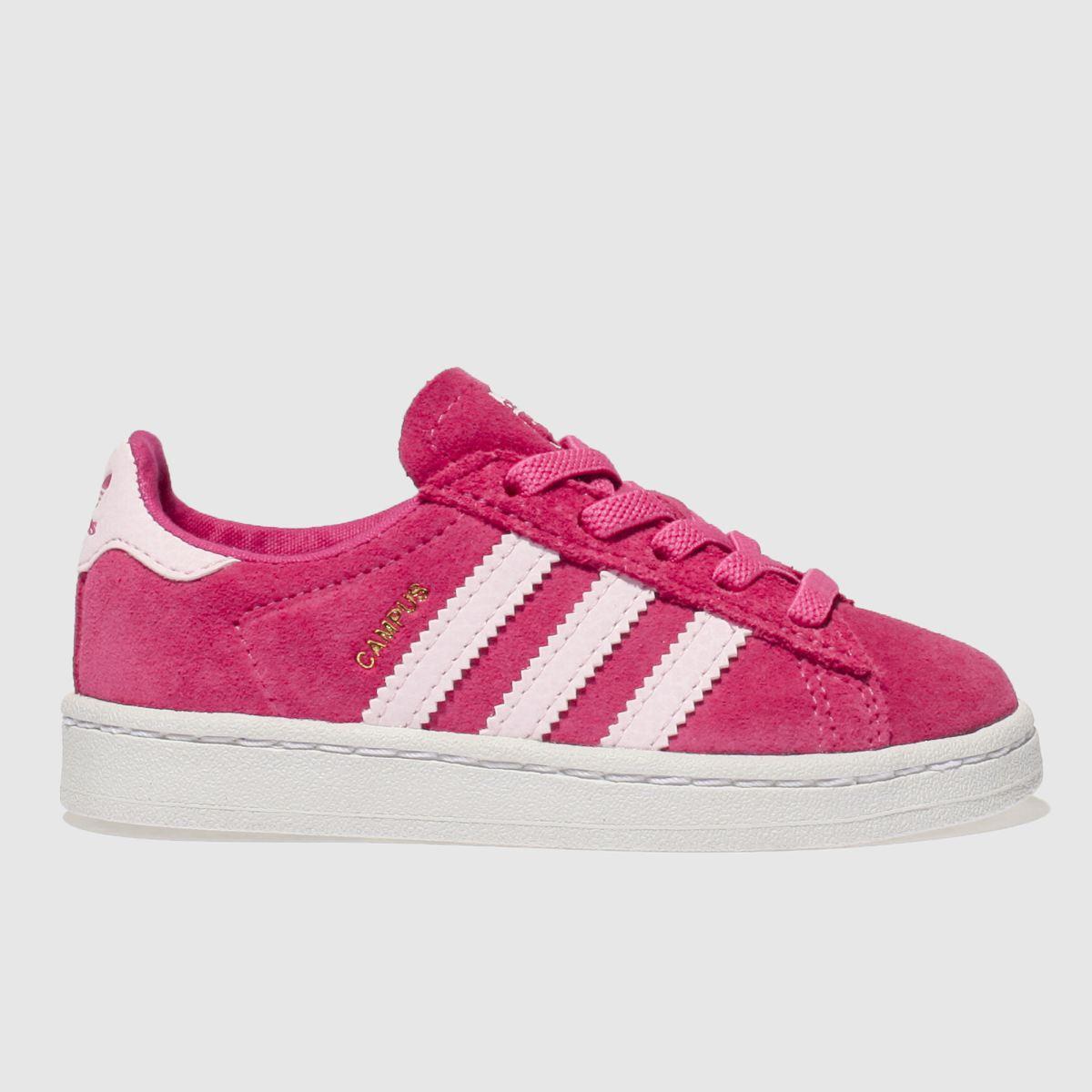 Adidas Pink Campus Girls Toddler Toddler