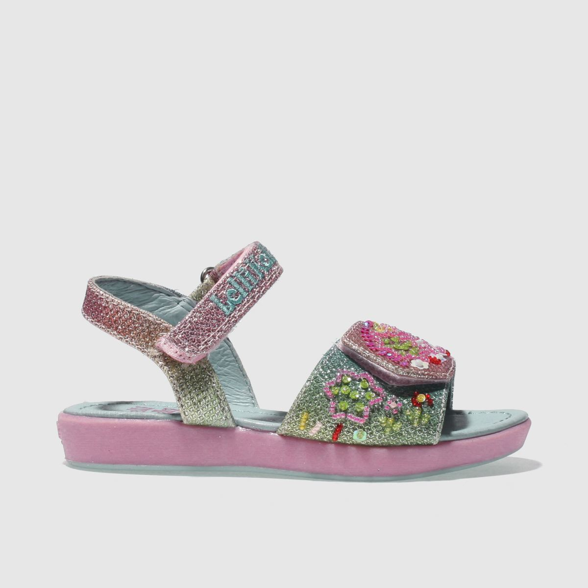 Lelli Kelly Lelli Kelly  Pink & Blue Rainbow Tillie Girls Toddler Sandals