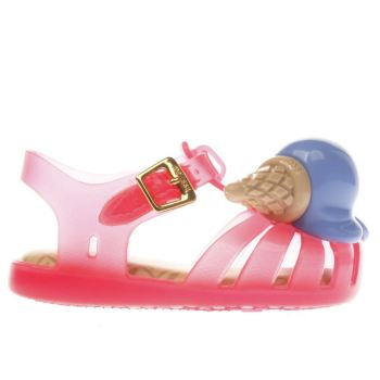 MELISSA  PINK ARANHA ICE CREAM GIRLS TODDLER SANDALS