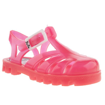 Juju Jellies Pink Sammy Girls Toddler