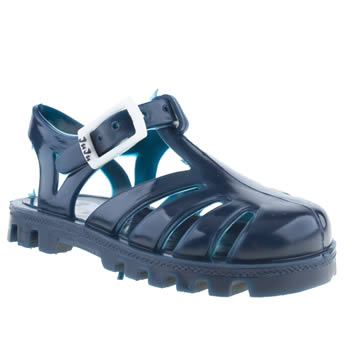 Juju Jellies Navy Sammy Girls Toddler