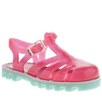 Girls Juju Jellies Pink Sammy Project Jelly Girls Toddler
