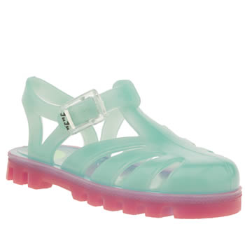 Girls Juju Jellies Turquoise Sammy Project Jelly Girls Toddler