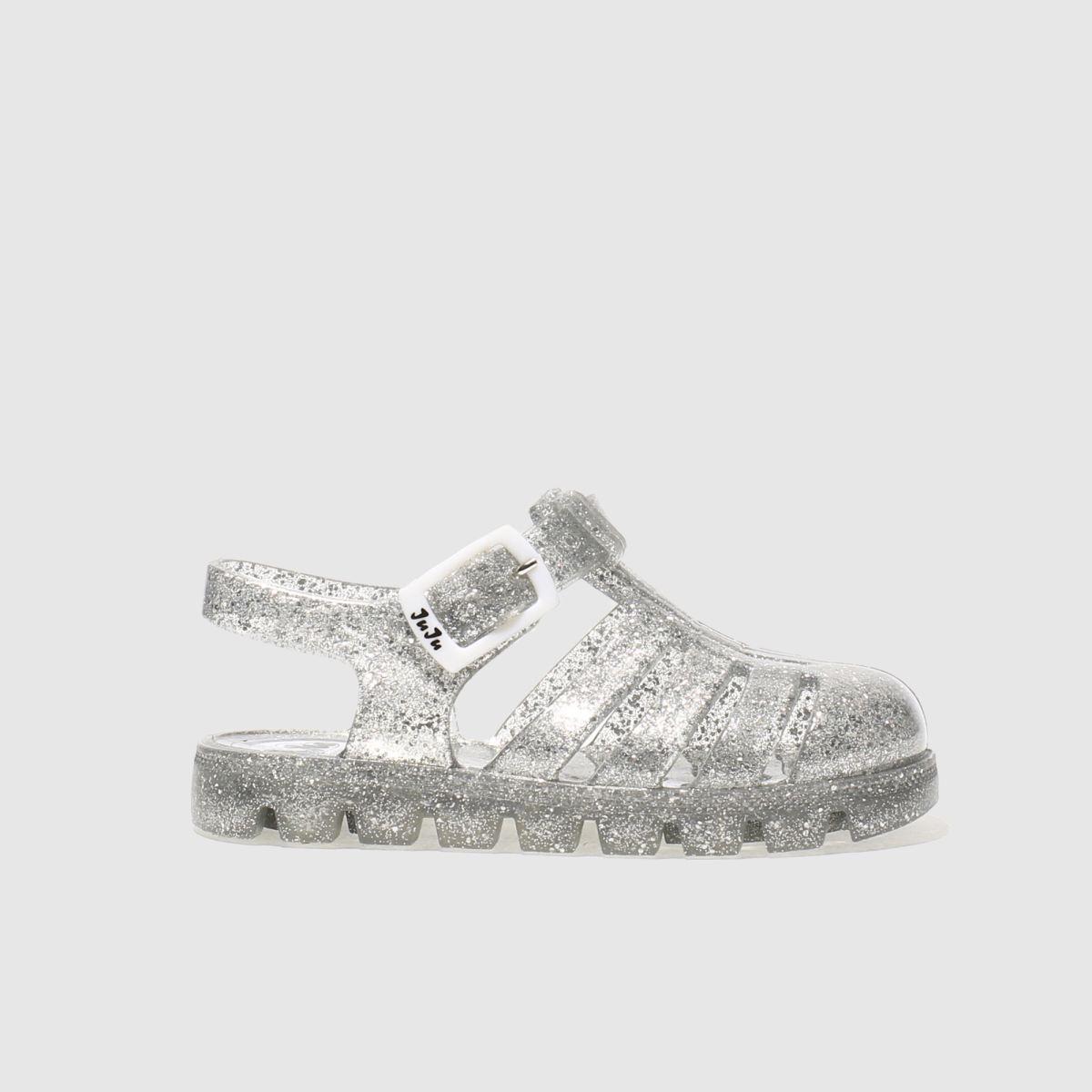 juju jellies Juju Jellies Clear Juju Nino Girls Toddler Sandals