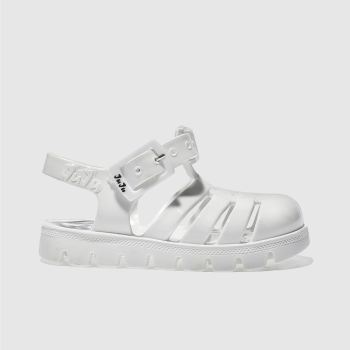 Girls Juju Jellies White Nino Girls Toddler