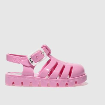 Girls Juju Jellies Pale Pink Nino Girls Toddler