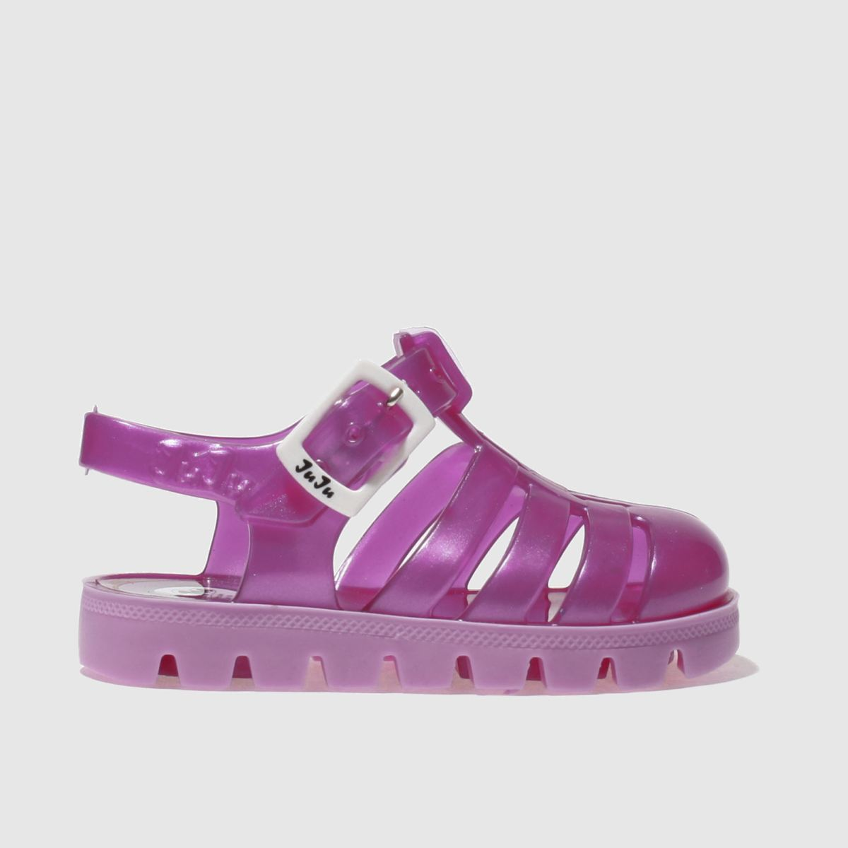 juju jellies Juju Jellies Pink Nino Girls Toddler Sandals
