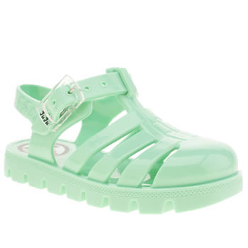 Juju Jellies Light Green Nino Girls Toddler
