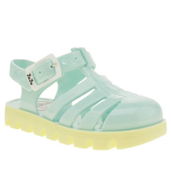 Juju Jellies Blue & Yellow Nino Towtone Girls Toddler