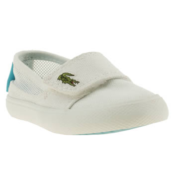 Girls Lacoste White Marice Girls Toddler
