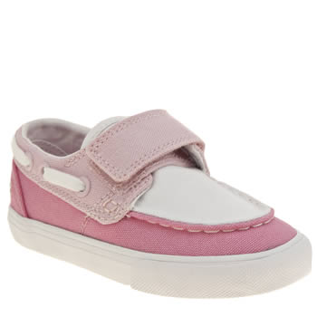 Lacoste Pink Keel Girls Toddler