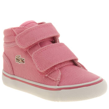 Lacoste Pink Popstop Girls Toddler
