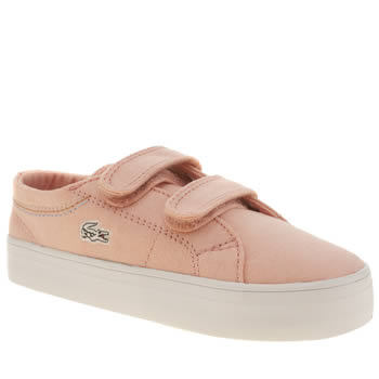 Girls Lacoste Pale Pink Marcel Chunky Girls Toddler