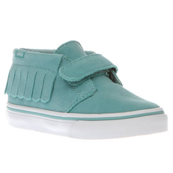 Vans Turquoise Chukka V Moc Girls Toddler