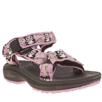 Teva Pale Pink Hurricane 2 Girls Toddler