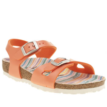 Birkenstock Peach Rio Girls Toddler