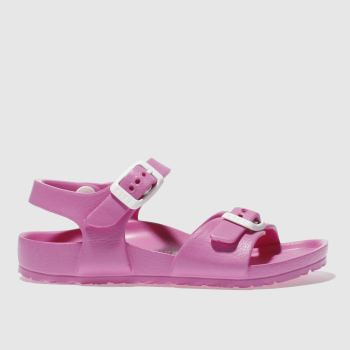 Birkenstock Pink Rio Kids Eva Tdlr Girls Toddler