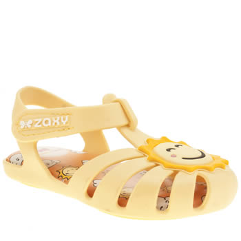 ZAXY YELLOW BABY HEAVEN GIRLS TODDLER SANDALS