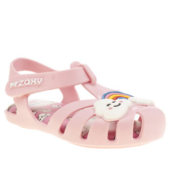 kids zaxy pink baby heaven trainers