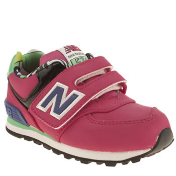 New Balance Pink 574 Pop Tropical Girls Toddler