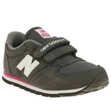 New Balance Grey 420 Girls Toddler