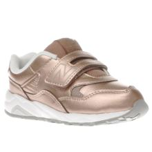 New Balance Rose Gold 580 Girls Toddler