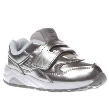 New Balance Silver 580 Girls Toddler
