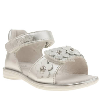 Lelli Kelly Silver Lucia Flower Girls Toddler