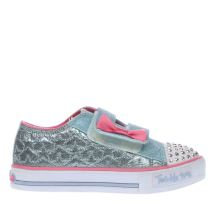 Skechers Pale Blue T Toes Starlight Girls Toddler