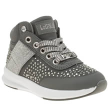 Lelli Kelly Dark Grey Strass Girls Toddler
