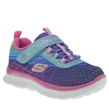 SKECHERS MULTI SKECH APPEAL GIRLS TODDLER TRAINERS