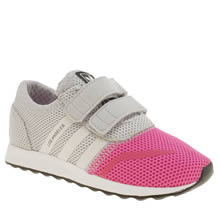 Adidas Pink Los Angeles Girls Toddler