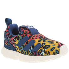 Adidas Multi Zx Flux 360 Girls Toddler