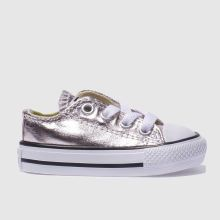 Converse Rose Quartz All Star Ox Metallic Girls Toddler