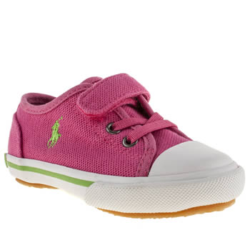 Polo Ralph Lauren Pink Babson Ez Girls Toddler
