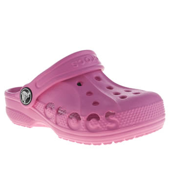 Crocs Pink Baya Girls Toddler