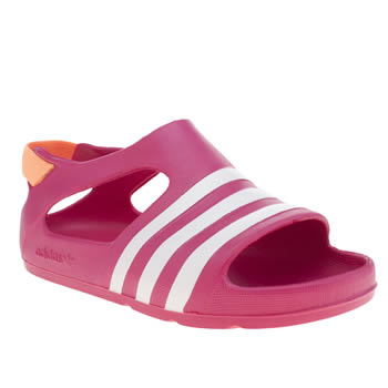 Adidas Pink Adilette Play Girls Toddler