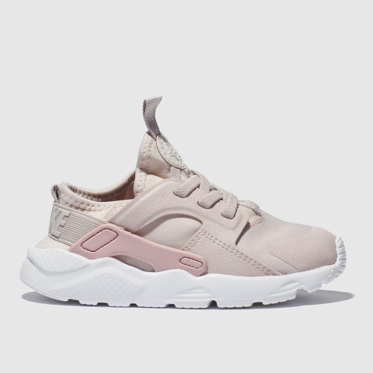 Nike Pale Pink Huarache Run Ultra Premium Trainers Toddler