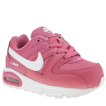Girls Nike Pink Air Max Command Girls Toddler