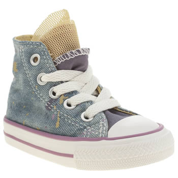 Girls Converse Multi All Star Party Hi Girls Toddler
