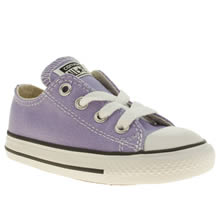 Toddler Lilac Converse All Star Oxford