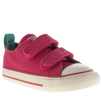 Converse Pink All Star Oxford Girls Toddler