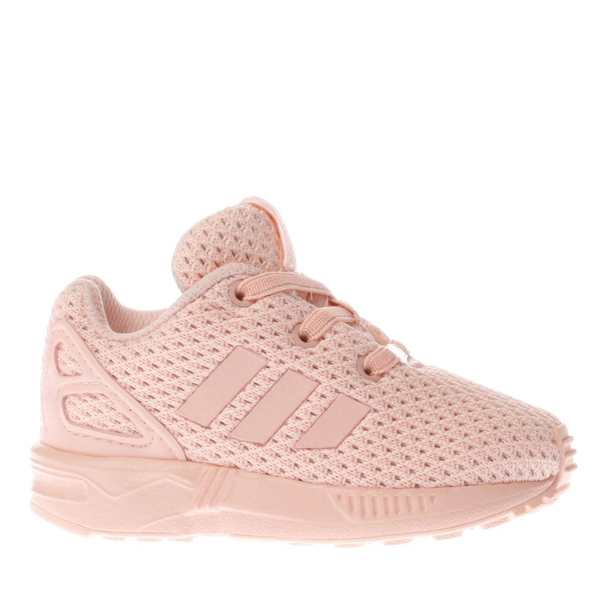 adidas pale pink zx flux Girls Toddler Trainers