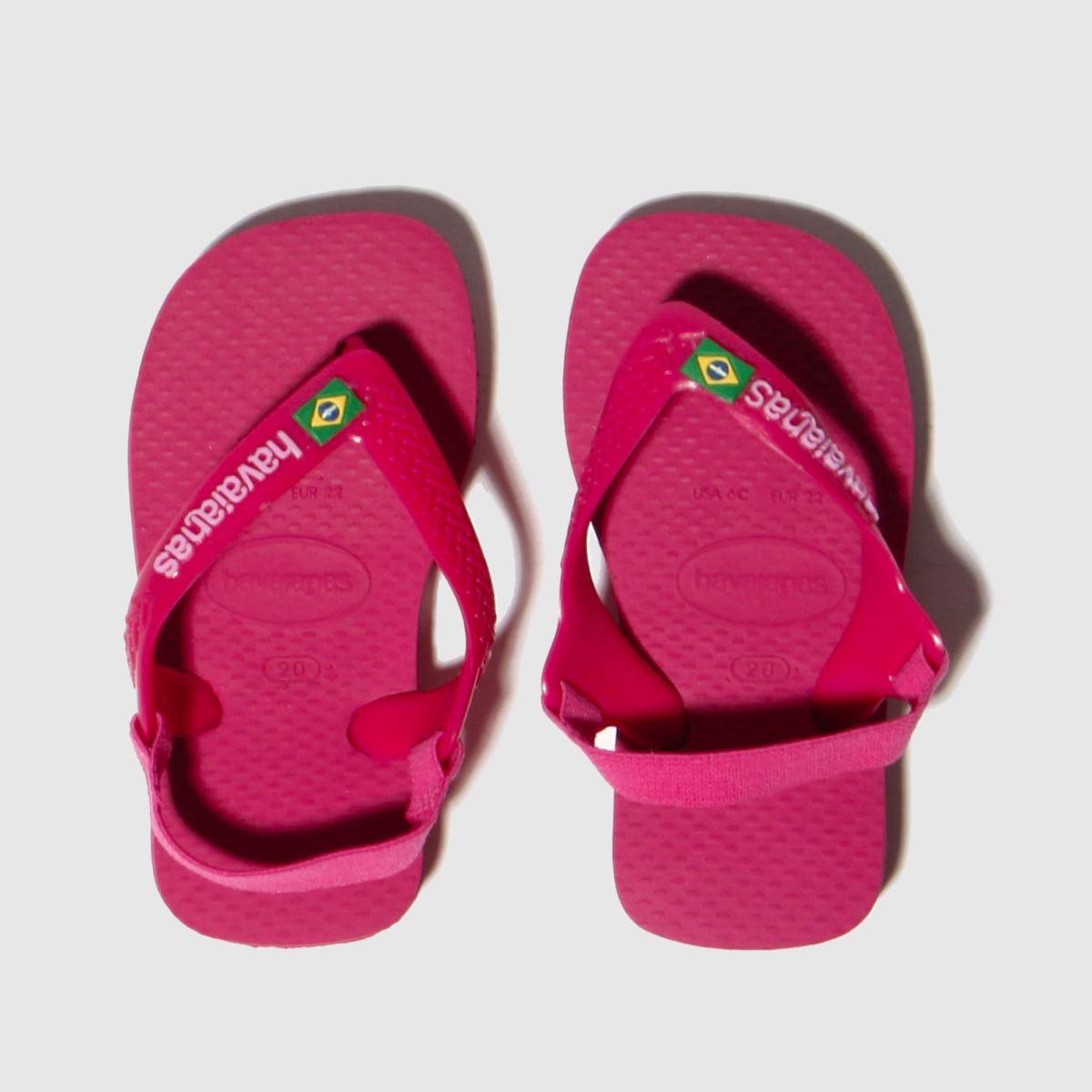 Havaianas Pink Brasil Logo Trainers Toddler