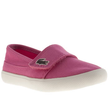 Girls Lacoste Pink Marice Girls Toddler