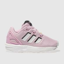 Adidas Pale Pink Zx Flux Girls Toddler