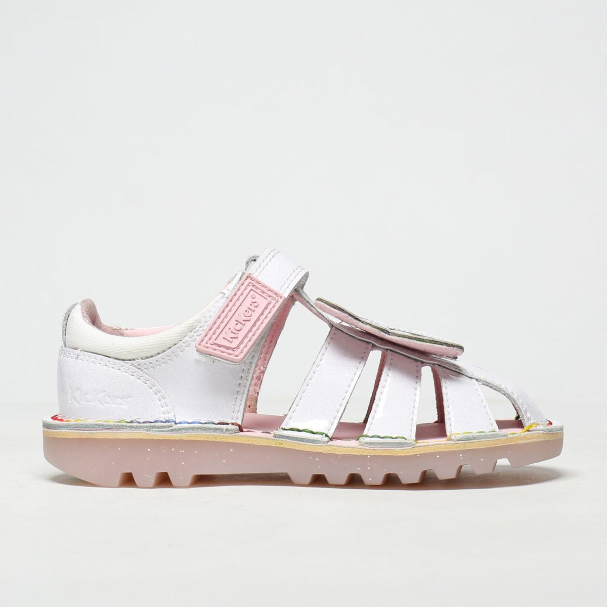 Kickers Kickers White Faeries Sandal Trainers Toddler