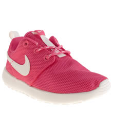 Junior Pink Nike Roshe Run