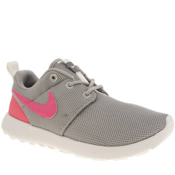 Girls Nike Grey Roshe One Girls Junior