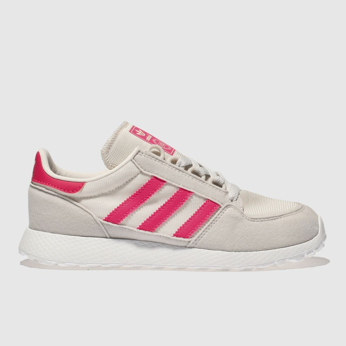Adidas Stone & Pink Forest Grove Girls Junior Junior